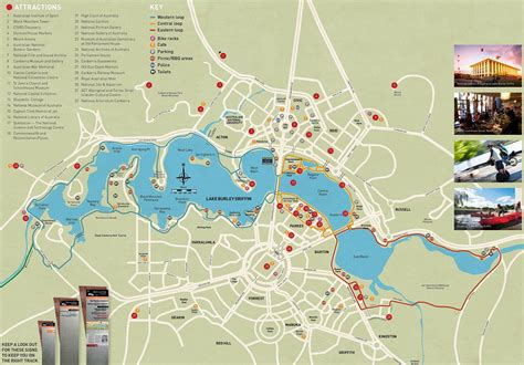 Large Canberra Maps For Free Download And Print High