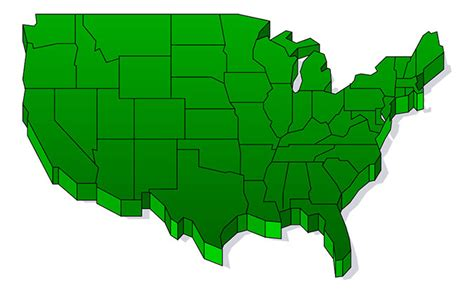 us map outline for powerpoint us map clipart clipart best