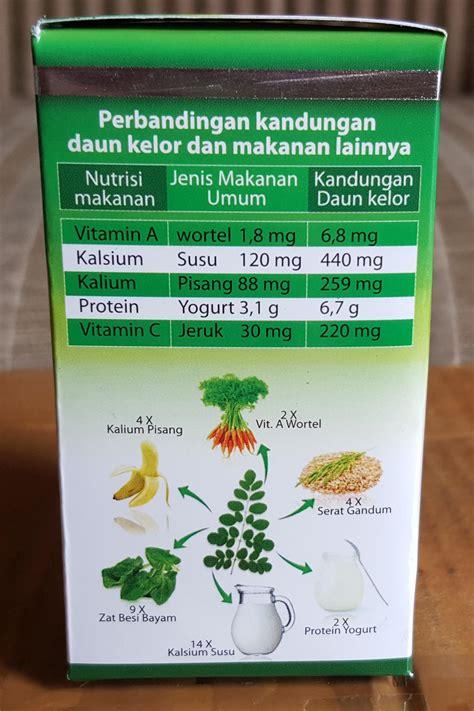 Bolu Herbal Ekstrak Daun Kelor kapsul daun kelor 100 alami tanpa kimia gratis ongkir