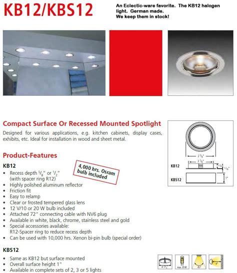 hera cabinet lighting hera kb1220 halogen cabinet lights eclectic ware