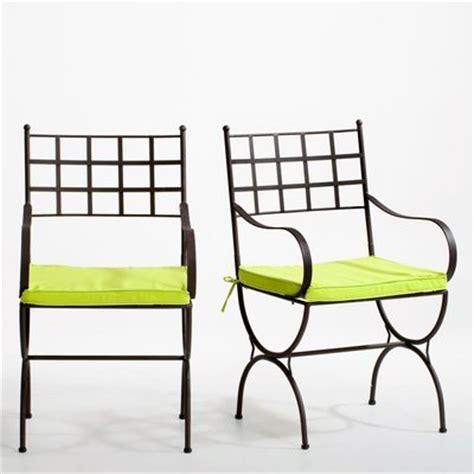 mobilier de jardin chaise si 168 ge banc banquette en fer