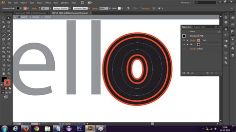 illustrator tutorial kickass how do i give text an offset path in illustrator