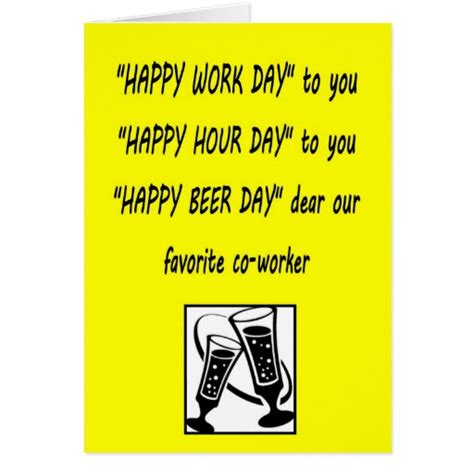 Funny Happy Birthday Quotes Coworkers