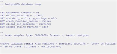 tutorial postgresql linux how to use pg dump and pg restore with postgres plus
