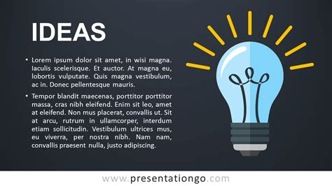 Ideas Metaphor Powerpoint Template Presentationgo Com Template Ideas