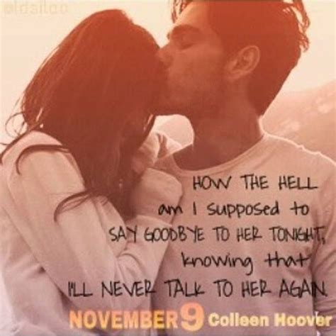 November 9 By Colleen Hoover 84 best images about hopeless on dean o gorman and book