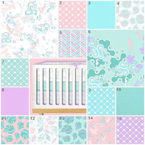 underwater crib bedding mermaid crib bedding mermaid play nursery baby bedding crib