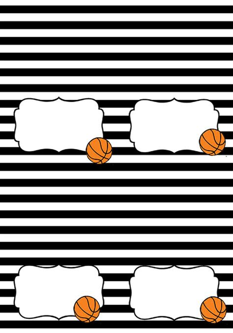 free printable basketball birthday decorations basketball themed party free printables i heart arts n