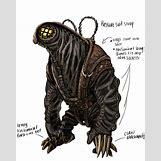 Bioshock Big Daddy Concept Art | 500 x 625 jpeg 213kB