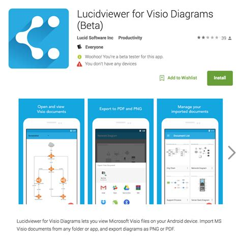 visio viewer android 2016 feature review mobile lucidchart