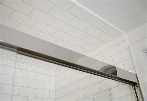 bathroom tile to ceiling master bathroom in carrara marble complete tile
