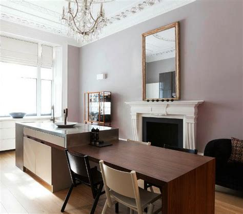 Mauve Kitchen Walls by Pink Purple Interiors All Grown Up