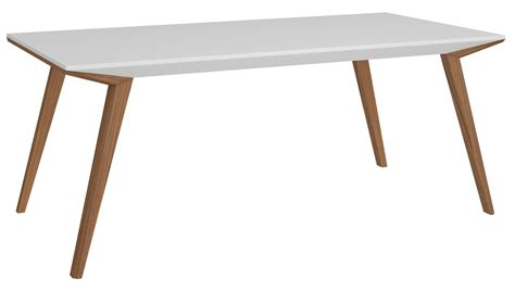 modern white rectangular dining table branden 2 white rectangular dining table from bellini