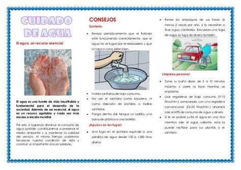 Cripticos Sobre El Cuidado Del Agua | cuidado del agua