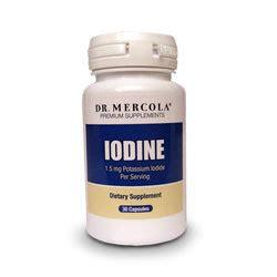 Iodine Detox Insomnia by Dr Mercola Iodine 1 5mg Potassium Iodide Per Serving
