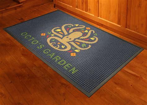 waterhog logo inlay custom logo floor mat floormatshop
