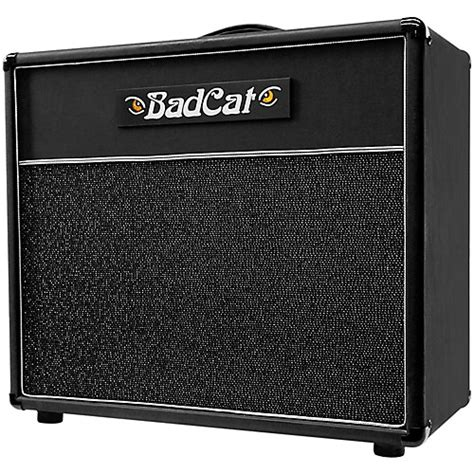 bad cat 1x12 cabinet bad cat lg 1x12 guitar speaker cab silver silver