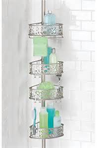 towel bar shower caddy bathroom shower caddy pole shoo toiletries soap baskets