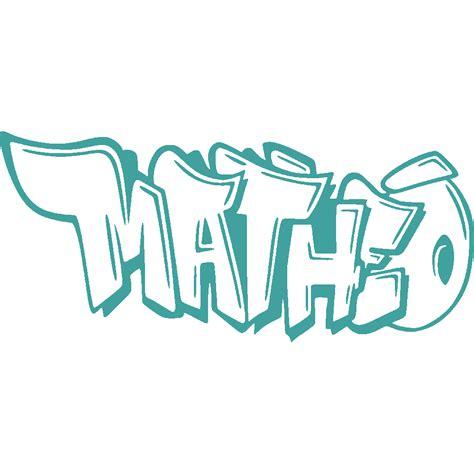 stickers matheo graffiti art stick