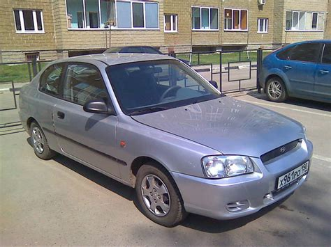 2001 hyundai accent pictures gasoline manual for sale