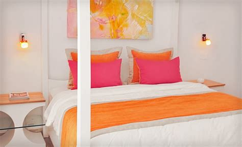 orange and pink bedroom hamaca suites pink and orange bedroom my style