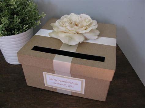 Wedding Gift Handmade - rustic wedding card box custom wedding cardbox handmade