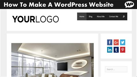 wordpress tutorial to create a website how to make a wordpress website 2016 2017 generatepress