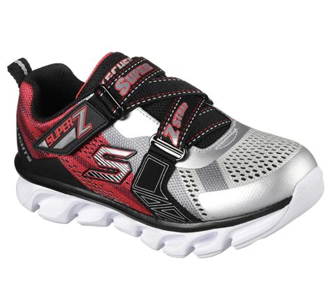 skechers s lights hypno flash boys light up shoes skechers boys s lights hypno flash black silver light