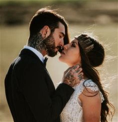 tattooed bearded couple 1000 images about hipsters beards rock n roll on