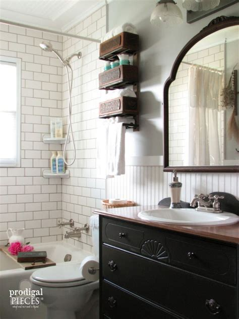 farmhouse style bathroom farmhouse bathroom remodel reveal prodigal pieces