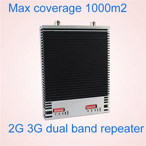 4g Repeater Dual Band 1800 2100mhz Booster 3g 4g 27dbm 850 1800 dual band 3g 4g signal booster mgc agc alc shenzhen sai tong tian electronic