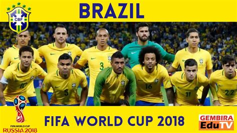 brazil squad world cup russia 2018 possible selection