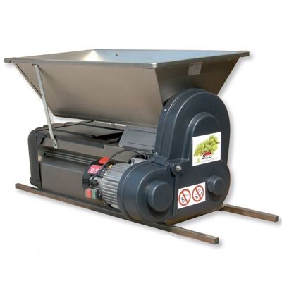 grifo grape crusher destemmer grifo grape crusher destemmer electric with stainless finish