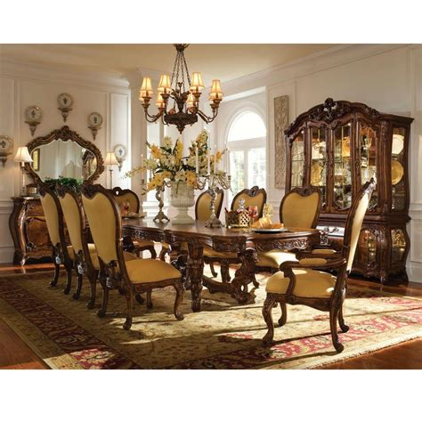 Palais Royale Extendable Dining Table El Dorado Furniture El Dorado Furniture Dining Room