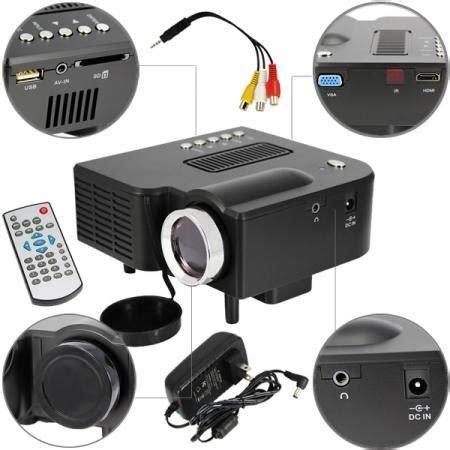 Hdmi Mini Proyektor Portable Unic Uc28 400 Lumens Portable Projector mini uc28 hd home led projector uc28 mini digital