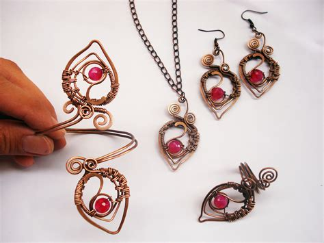 Handcrafted Jewels - wire jewelry www imgkid the image kid has it