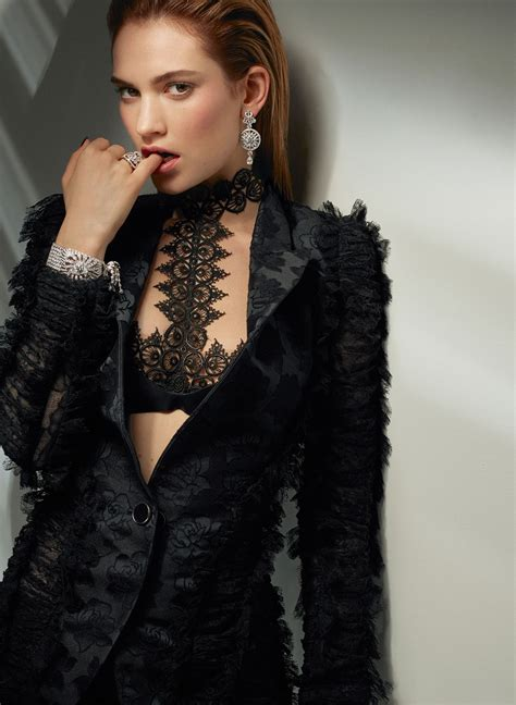 lily james vanity fair  jewelry photoshoot  cuneyt
