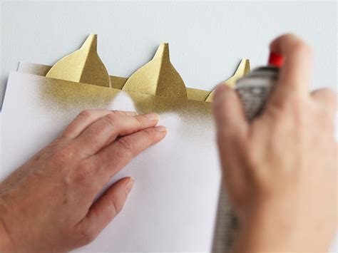 How To Make Paper Spray - how to make a paper feather garland