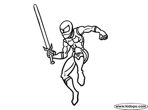 Super Ninja Coloring Pages | super ninja coloring page