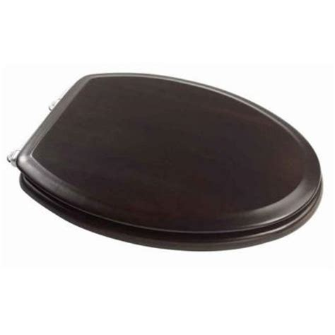 espresso wood toilet seat american standard boulevard wood finish elongated closed