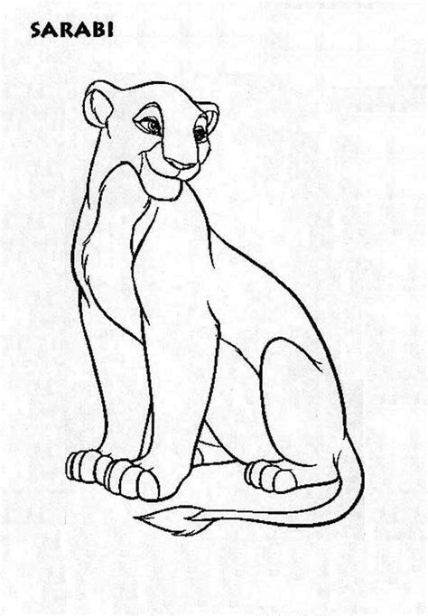 lion king nala coloring pages free lion king adult simba coloring pages