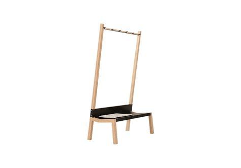 coat hanger bench yak moormann coat rack bench milia shop