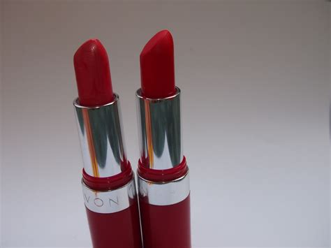 Avon Lipstick my box avon lasting lipstick review fiery and pink