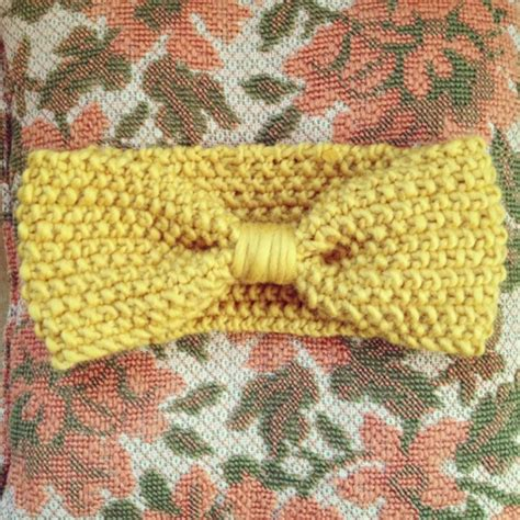 knitting patterns galore cozy posy ear warmer headband