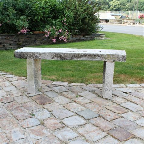 rock benches for garden stone garden bench