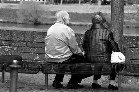 old couple on bench old couple on bench strassenfotojournal