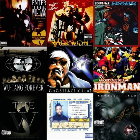 best wu tang clan album the top 20 wu tang albums the best projects that came out