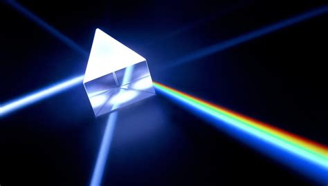 light prism 2 5 how to rainbows with prisms sciencing
