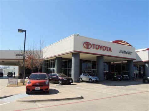 Toyota Dealership Denton Tx Jim Mcnatt Toyota Denton Tx 76210 877 731 1649