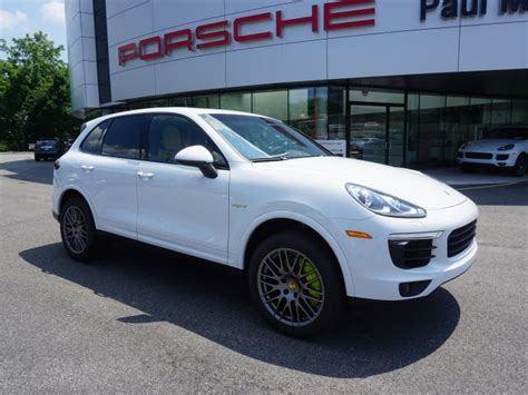 Pre Owned Porsche Cayenne by Pre Owned 2017 Porsche Cayenne S E Hybrid Platinum Edition